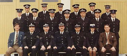 Inverness Constabulary police staff 1975