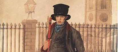 Policeman, Scarborough, © 1830, by William Dempsey