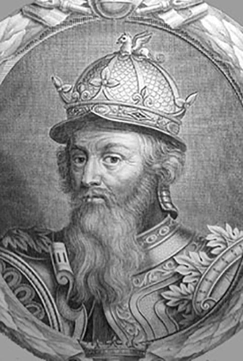 King Stephen of England (1096-1154)