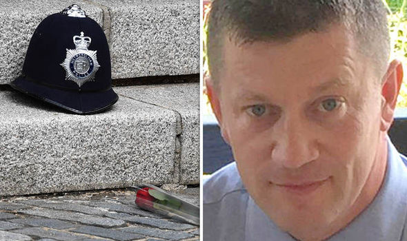 PC Keith Palmer was murdered in the horrific Westminster terror attack